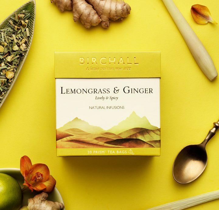 Lemon grass & ginger